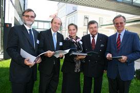Ivan Rozman, David White, Ada Pellert, Heinrich Kern, Georg Winckler (c) Rohrhofer, NÖN