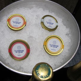Involuté soirée comptoir du caviar