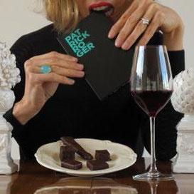 Involuté vins soirée chocolats de patrick roger
