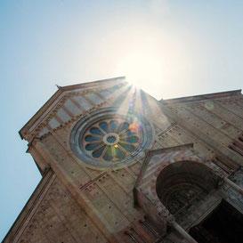 Kirche Chiesa Basilica San Zeno Verona, Italien