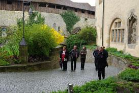 Blaskapelle Meeder mit den Nussdorfer Gästen auf der Veste Coburg