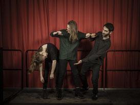 Sophie Aupied, Claire Lebrun, Olivier Schlegelmilch, trio, tango