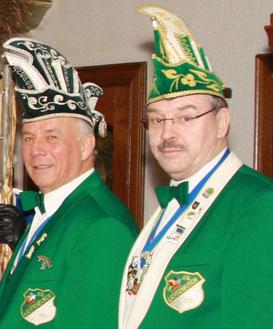 Karl Stollenwerk und Heinz Sauer verabschieden sich aus der Vorstandsarbeit - Foto: U. Sauer