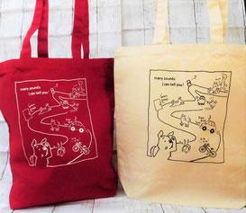 日本聴導犬推進協会オリジナルトートバッグ