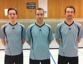 von links: Noah Wilke, Tobias Haumann und Christian Weustermann