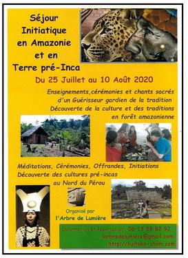 Séjour initiatique en Amazonie et en Terre Pré-Inca