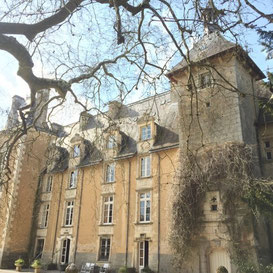The fantastic chateau - what a place to do a champagne tasting!