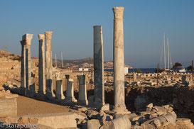 Antikes Knidos: Blick auf den ehemaligen Kriegshafen