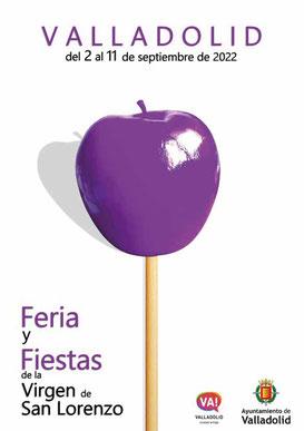 Feria y Fiestas de Valladolid 2016 Cartel y Programa