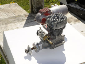 Motorisation 2 temps Glow au méthanol