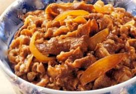 gyudon, beef bowl,