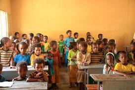 Schule in Südäthiopien