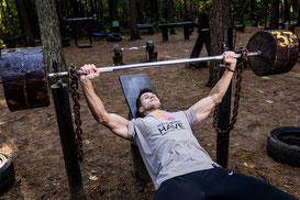 Trainingsschema trainingsschema's workout workoutschema spierkracht ontwikkelen opbouwen borst