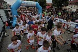 Start zum Beeskower Altstadtlauf (Foto: MOZ/Jörn Tornow)
