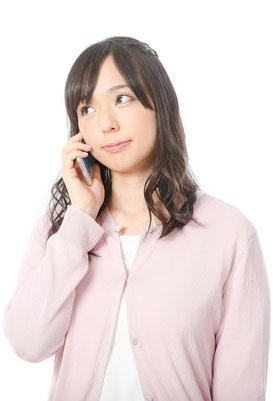 電話で気軽に相談予約