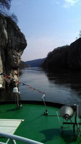 durch den Donaudurchbruch