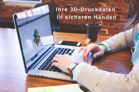 3D-Druck-Modelleisenbahn