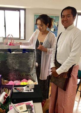 GoenプロジェクトのNaomiさんとサイさん