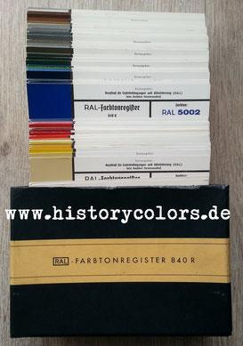 RAL Farbtonregister 840 R