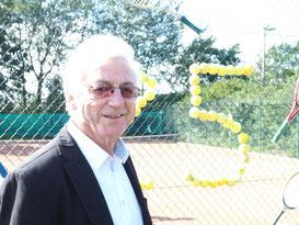 25 Jahre Tennissparte - unser 'Präsi' Reinhard