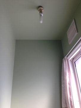 トイレ天井壁塗装リフォーム完成
