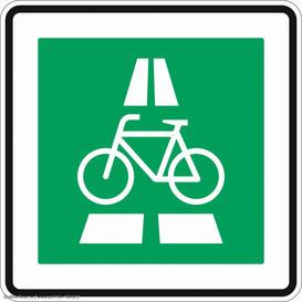 """Verkehrszeichen """"Radschnellweg"""" wird in die StVO aufgenommen"""