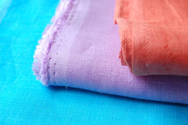 colored linen