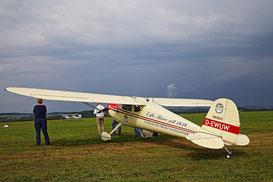 Die Cessnas treffen zum Meeting 2014 ein (Foto: Wolfgang D. Schüle)
