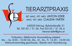 Logo Tierarztpraxis Eder & Fartek