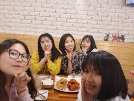 gặp gỡ sv GSC qua chuyến công tác tại Hàn Quốc