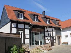 Scheune ausbauen mit Lehmbaustoffen Frankfurt Bonames