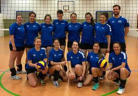 Das Meisterteam der Damen 1 - Saison 2015/16