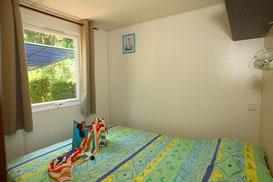 chambre matrimoniale  mobile home CATALANE