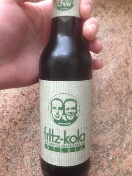 Fritz Cola Stevia: der deutsche Mitbewerber zu Coca Cola Life