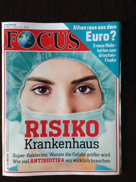 Der Focus-Titel 7/15 vom 07. Februar 2015