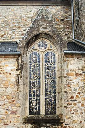 Crozon; Kirche; Fensterbild; Bretagne