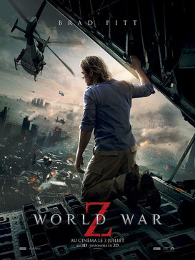 Brad Pitt est chargé de sauver la planète d'une épidémie ravageuse (©Paramount Pictures)