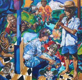 """VIVO"", 150x160 cm, oil on canvas, diplom"
