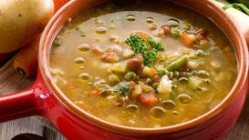 Ricetta minestrone di verdure e pasta dietetico