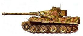 Tarnschema Tigerpanzer