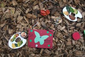 Waldkunstwerke basteln mit dem NABU Federsee