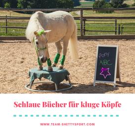 Schlaue Pferdebücher für kluge Köpfe - Team Shetty-Sport.