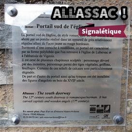 Allassac // Signalétique patrimoniale