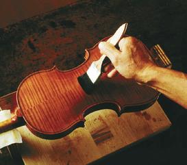 лакировка мастеровой скрипки