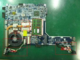 NEC LN500 基板