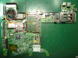 HP tx1000 基板
