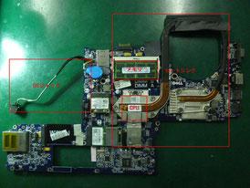 DELL StudioXPS1645 基板