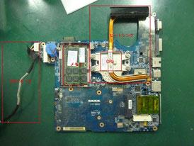 HP dv4 基板