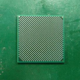 CPU SL9600 裏