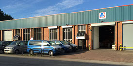 Office building of subsidiary AMF-Bruns UK